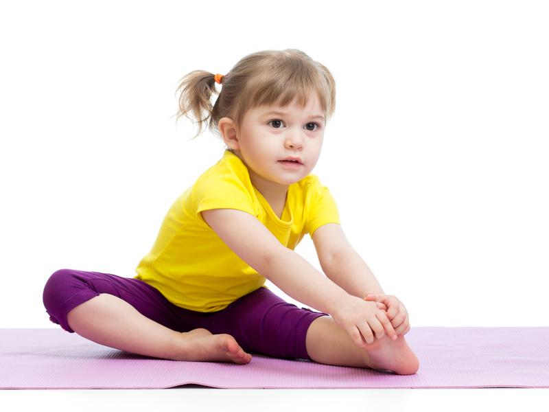 Зачем физкультура малышам?