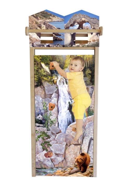 "Шведская стенка детская ""Бэби Мом на скале"" Арт.№40400"